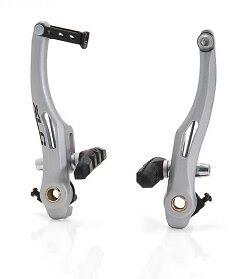XLC BR-V03 V-Brake Alu für vorne oder hinten, silber, Fahrradbremse