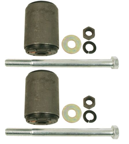 Pair Set of 2 Rear Leaf Spring Bolt Kits Moog for Ford Mustang Mercury Cougar