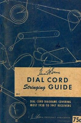 for Antique Radios CD Sam/'s Dial Cord Stringing Guide