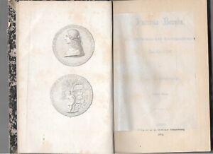 ERSTAUSGABE: Gregorovius, Ferdinand: Lucrezia Borgia. Erster (und zweiter Band)