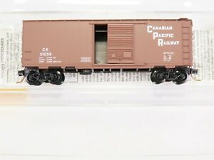 N-Scale-MTL-Micro-Trains-20436-2-CP-CPR-Canadian-Pacific-40-039-Box-Car-51059-RTR