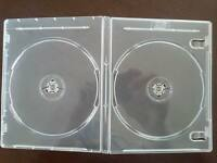 100 11mm Double Blu-ray Dvd Case Super Clear, Blu-ray & 3d Logo, Pn Bl1102-3d