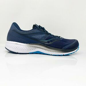 Saucony-Mens-Omni-19-S20570-20-Navy-Blue-Running-Shoes-Lace-Up-Low-Top-Size-12