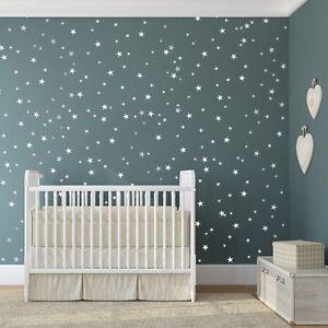 Star Wall Stickers Mixed Size Kids Decal Art Nursery Bedroom Vinyl Decoration