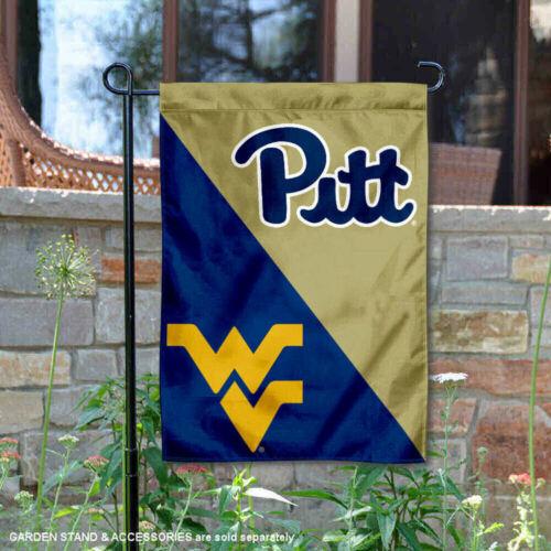 West Virginia House Divided Garden Flag and Yard Flag Pitt vs