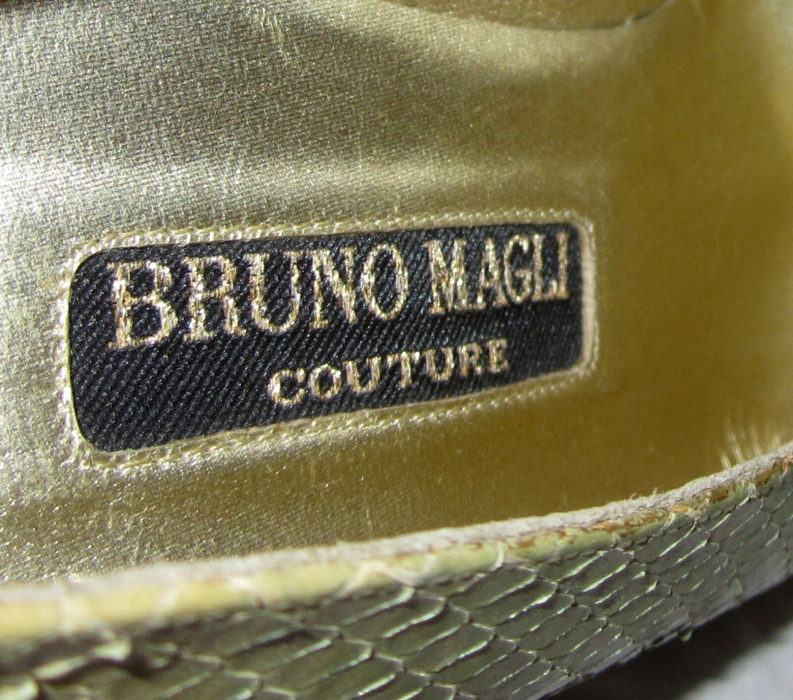 Neu Bruno Magli Kontur Ferse 9AAAA Italien Schlange Pastell Pastell Pastell Farbverlauf Must See 492e61