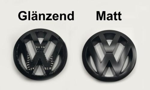 VW Zeichen Schwarz Matt Glänzend Vorne Passat B5 3BG W8 V5 V6 TDI 4Motion 1,8T