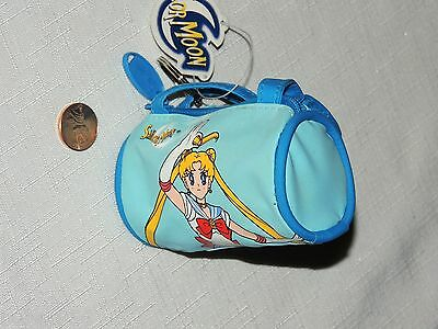 NEW   *SAILOR MOON*    COIN PURSE  BLUE   1999