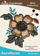Jacobean Anita Goodesign Embroidery Design Cd