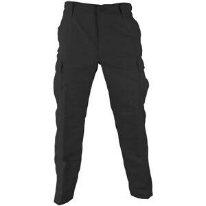 Propper-Bdu-Uniforme-Pantalones-Ripstop-Combate-Policia-Seguridad-Cargas-Negro