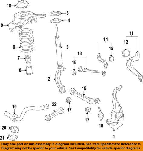 AUDI OEM 11-17 A8 Quattro Front Suspension-Lower Bushing 4H0407183C