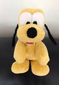 Pluto Baby Plush Soft toy Flopsy Disney Dog Puppy Floppy Comforter Soother Dou