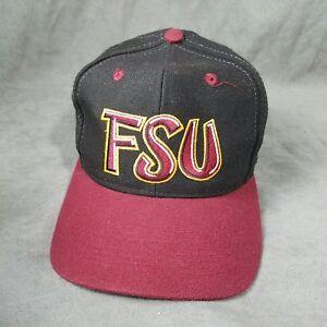 Details About Vintage Florida State University Seminoles Fsu Noles Hat Fitted 7 1 8 Graffiti