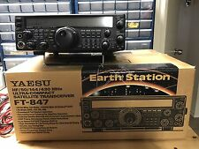 Yaesu FT-847 HF VHF UHF All Mode Satellite Transceiver