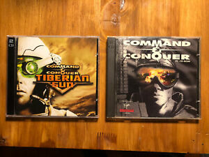 PC Lot Command & Conquer PC CD-Rom & Command And Conquer Tiberian Sun
