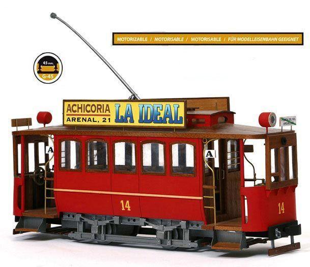 Occre Cibeles Tram 1 24 Scale Model Kit 53002