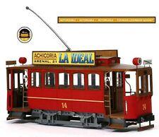 Occre Cibeles Tram 1:24 (53002) Model Kit
