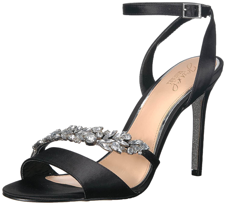 Jewel Badgley Mischka Womens Merida Heeled Sandal- Pick SZ color.