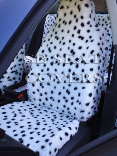 passend für Nissan Pixo Auto Dalmatiner Kunst Komplettset I Sitzbezüge