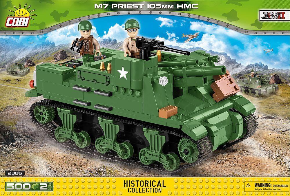 COBI SMALL ARMY WWII - 2386 - M7 PRIEST 105MM HMC