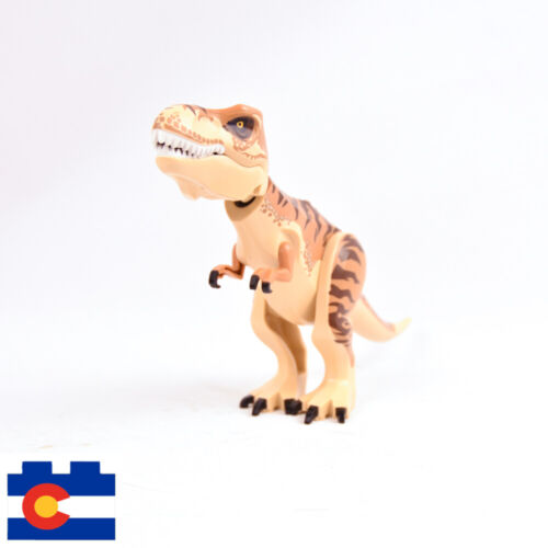 Lego Jurassic World Dinosaurs Velociraptor T-Rex Indoraptor Raptor Movie Rex