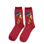 Künstler Socken Bunte Herren und Damen Socken Strümpfe Trendig in vielen Farben