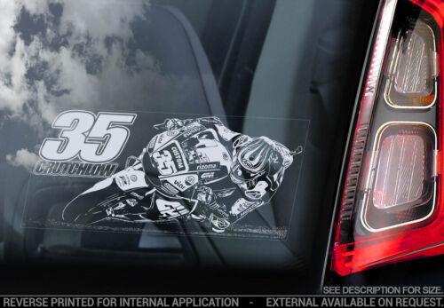 Voiture Fenêtre Autocollant-Moto Superbike Decal 2018 NEUF-V07 Cal Crutchlow a #35