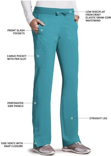 seamed junior pant $32.98 Barco One 3XL style# 5205 Teal 4-Pocket knit waist