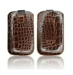 Housse-Etui-Pochette-Croco-Apple-Iphone-4-4S-Marron-Brown-Case