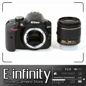 NEUF Nikon D3400 Digital SLR Camera + AF-P 18-55mm f/3.5-5.6G VR Lens (Kit Box)