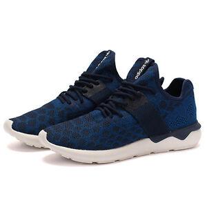 db40e80955e4c2 Adidas Men s Tubular Runner Prime Knit Navy Blue White S81628