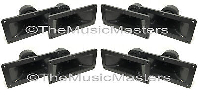 """4 Pack 3/"""" x 7/"""" inch Piezo Flush Mount Horn TWEETERS Speakers Home Car Pro Sound"""
