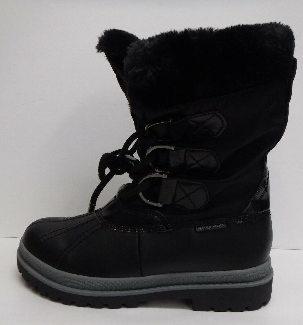 Khombu Size 6 Black Snow Boots New Womens Shoes