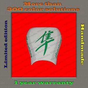 Design-Front-Driver-Seat-Cover-Suzuki-Hayabusa-99-07-HANDMADE-white-green-001-1