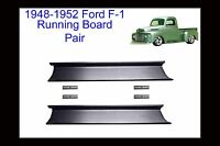 1948 1949 1950 1951 1952 Ford F-1 Pickup Truck Steel Running Boards Pair
