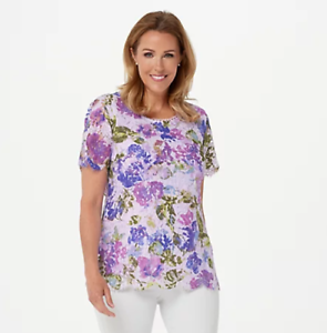 Isaac-Mizrahi-Live-Scoop-Neck-Floral-Printed-Lace-Knit-Top-Purple-2X
