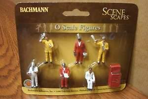 BACHMANN-SCENE-SCAPES-MECHANICS-O-SCALE-FIGURES