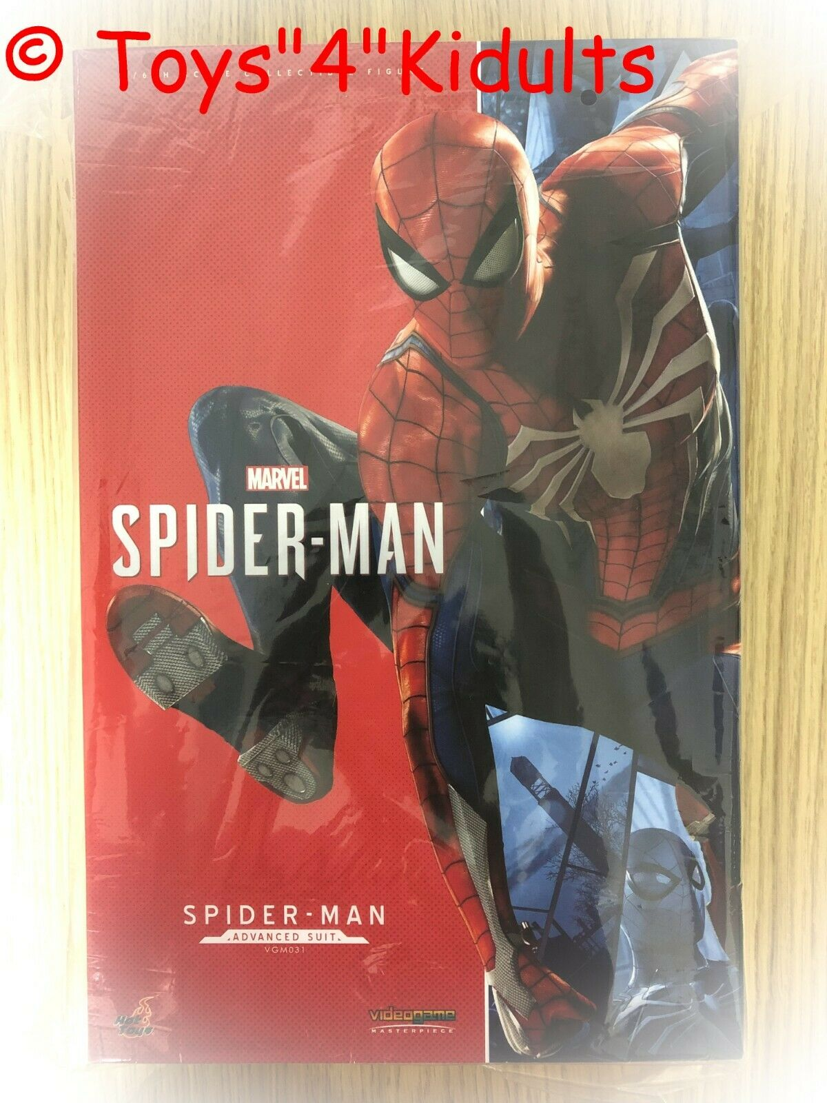 Hot Toys Toys Toys VGM 31 Marvel's Spider-Man (Advance Suit