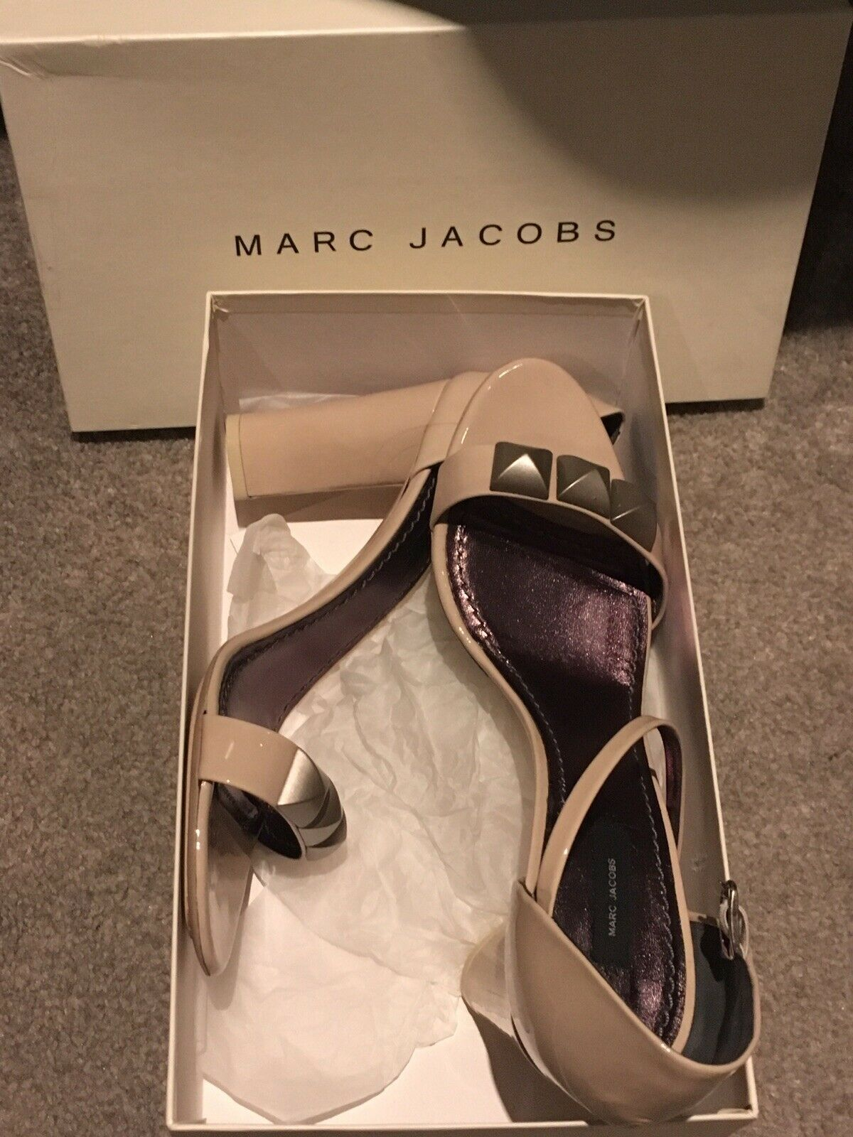 Marc Jacobs Taupe Sandals 40.5