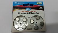 Walgreens Hearing Aid Batteries, Zero Mercury, 675 16 Pack