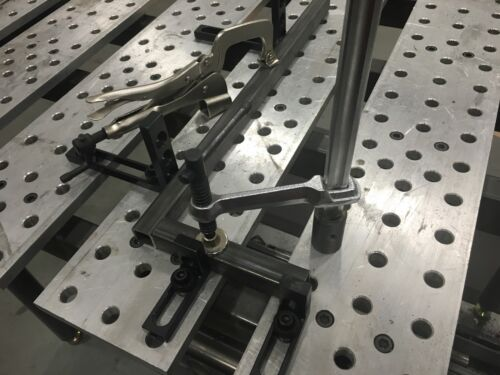 3/' Fixturing Table Welding And Fab Style Plates Buildpro Stronghand style