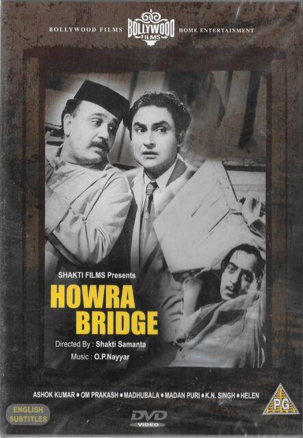 HOWRA BRIDGE - ASHOK KUMAR - HELEN - MADHUBHALA - NEW BOLLYWOOD DVD