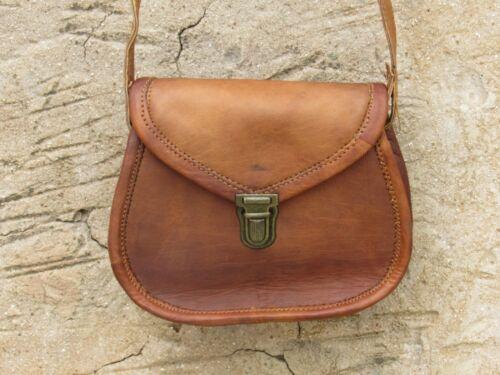 Women/'s Vintage Pure Leather Crossbody Shoulder Messenger Handmade Genuine Bag