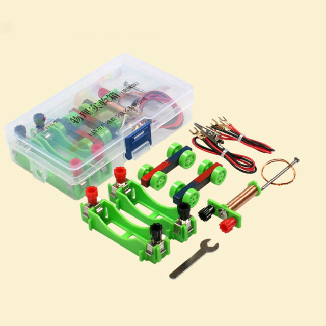 DIY Electromagnet Model Kit Physical Experiment Educational Science Kids Toy hea