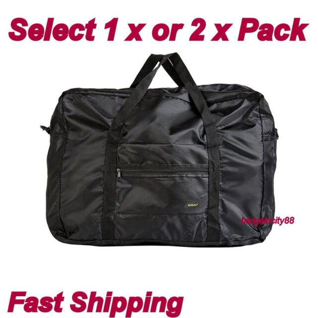 fe7d9d184a20 Korjo L Light Cabin Carry On Overnight Duffel Travel Bag Hand Luggage Tote  Black