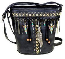 Montana West Native American Collection  Handgun Handbag Crossbody