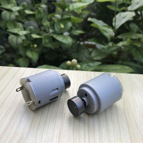 2PCS DC 12V 24V Strong Vibration Mini R260 Vibrating DC Motor for Massager DIY