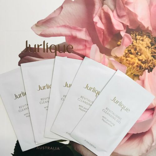 NEW Jurlique Revitalising Cleansing Gel 2mlx5 Sachet Natural Antiaging