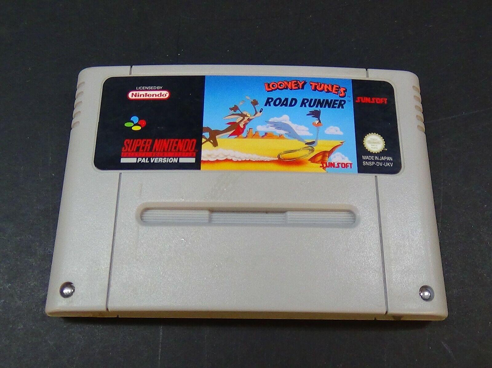 Road Runner - Super Nintendo (SNES) PAL - Cartridge Only