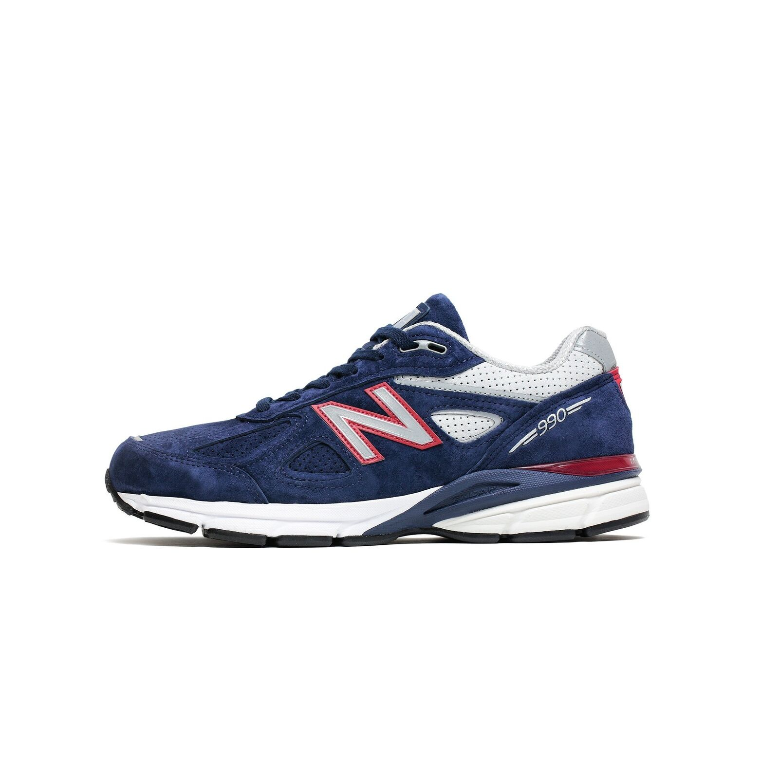 Mens New Balance 990 Made In USA Navy Red White Black M990BR4